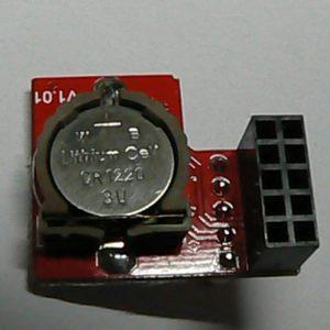 RTC DS1307 裏