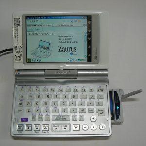 Linux Zaurus SL-C760