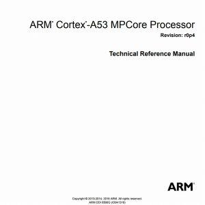 Cortex-A53 Manual