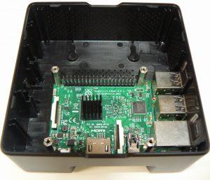 Pi Desktop にRaspberry Pi3を装着