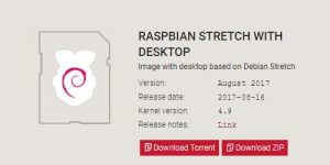 Raspbian Stretch イメージ