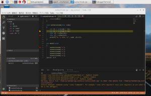 Raspberry PiでVS Code実行