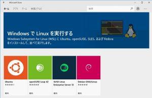 Windows で Linux を実行