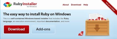 Ruby インストール1
