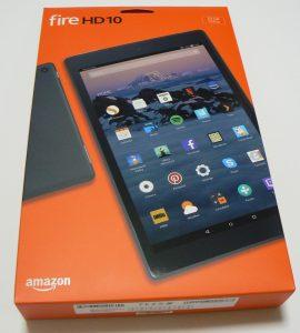 Fire HD10 箱