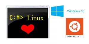 WSL Ubuntu 18.04 LTS