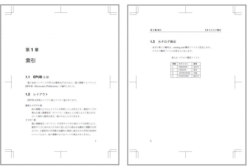 Re:VIEW PDF