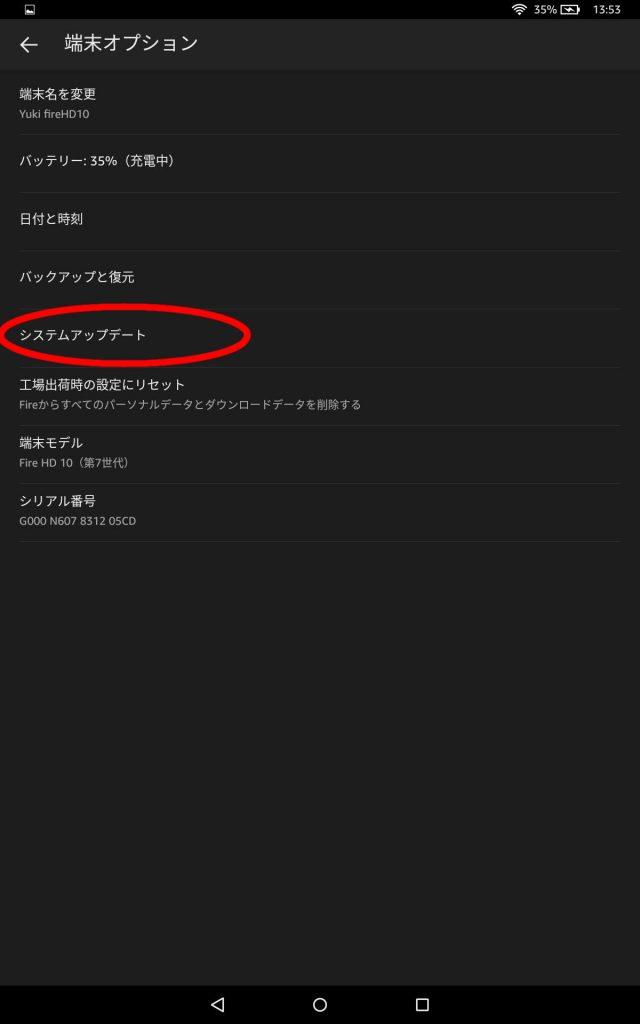 Fire HD 10 端末オプション