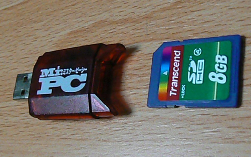 USBアダプター SDカード